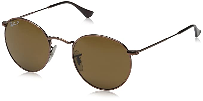 4cbad53641 Ray-ban Round Metal Rb3447 Sunglasses 101 57 47  Amazon.com.mx  Ropa ...
