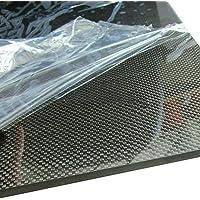 300MM lastra di pannelli in fibra di carbonio 3K Plain Gloss Surface Funnyrunstore 2.0 200