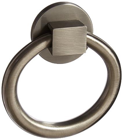 Baldwin 0195151 Ring Door Knocker, Antique Nickel