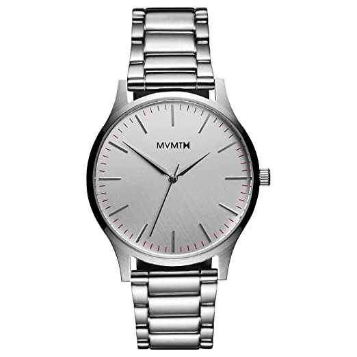 Reloj MVMT 40 Series – 40 mm Silver