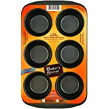 Baker's Secret Basics Premium Nonstick 6-Cup Muffin Pan
