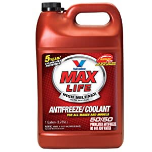 MaxLife Valvoline Universal Antifreeze/Coolant, Ready to Use - 1gal (719005)