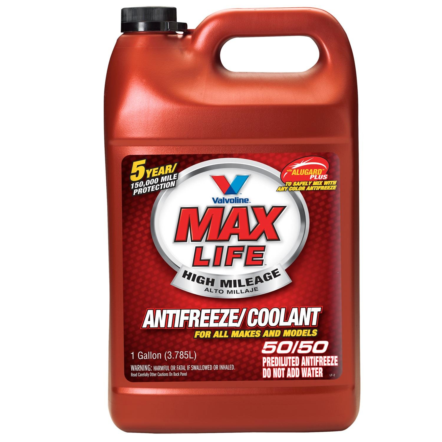 Valvoline MaxLife Universal Antifreeze/Coolant, Ready to Use - 1gal (719005)