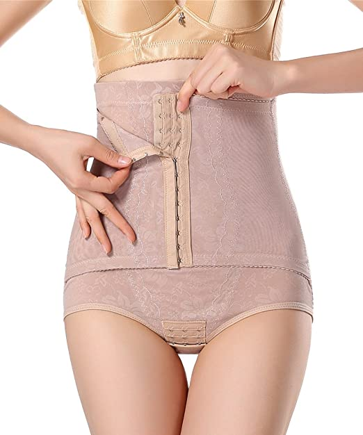 39e68a138e888 Image Unavailable. Image not available for. Color  FLORATA High Waist  Breathable Body Shaper Slimming ...