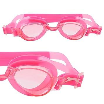 ab6849993c6 Slazenger Unisex Wave Swimming Goggles Juniors Pink  Amazon.co.uk  Sports    Outdoors
