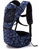 Baby Carriers Ergonomic Baby Backpacks with Hip Seat for All Seasons,for waist 27.5'' to 43'' Infant & Toddlers, Adjustable Waistband