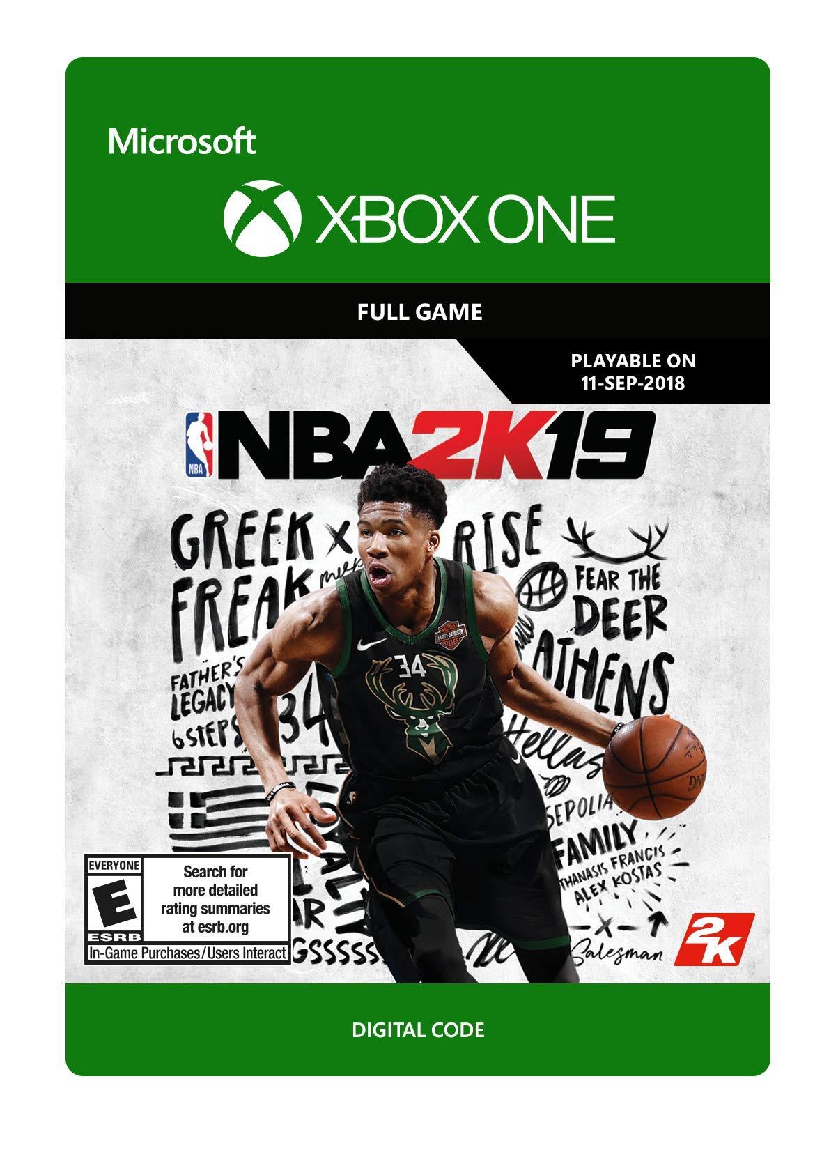 NBA 2K19 - Pre-load - Xbox One [Digital Code]