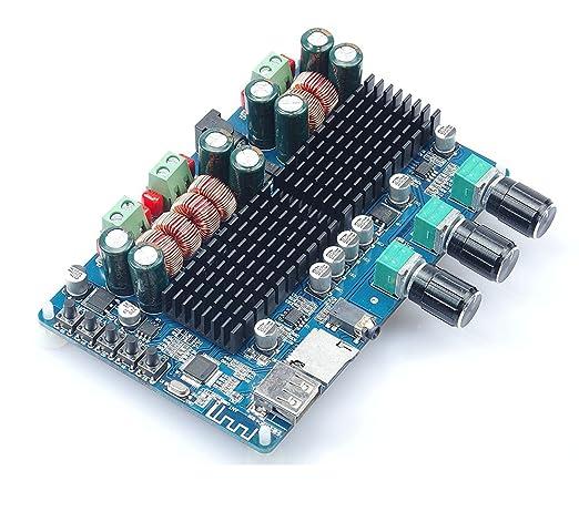 3 opinioni per WINGONEER TPA3116 50W * 2 + 100W 2.1 veicolo Bluetooth Ricevitori Power Board