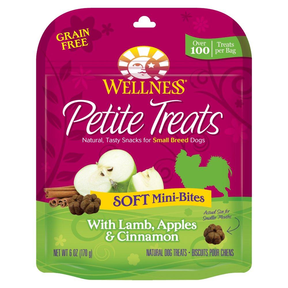 Wellness Petite Treats Small Breed Grain Free Dog Treats 6 oz Bag