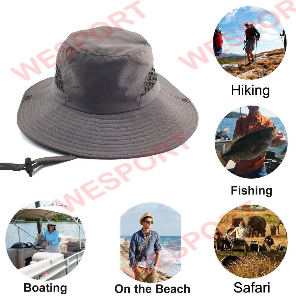bf82148b30e3e Isidore Jackson Boonie Sun Hat Wide Brim