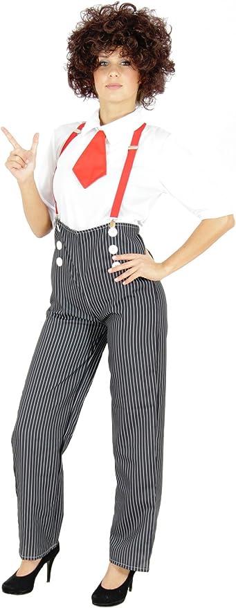 Foxxeo 20s Mafia Vestuario para Damas con Pantalones, Blusas ...
