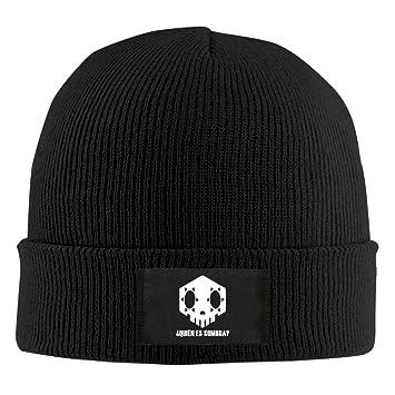 94ed3899302 Who Is Sombra Overwatch Unisex Warm Winter Hat Knit Beanie Skull Cap Cuff  Beanie Hat Winter Hats  Amazon.ca  Sports   Outdoors