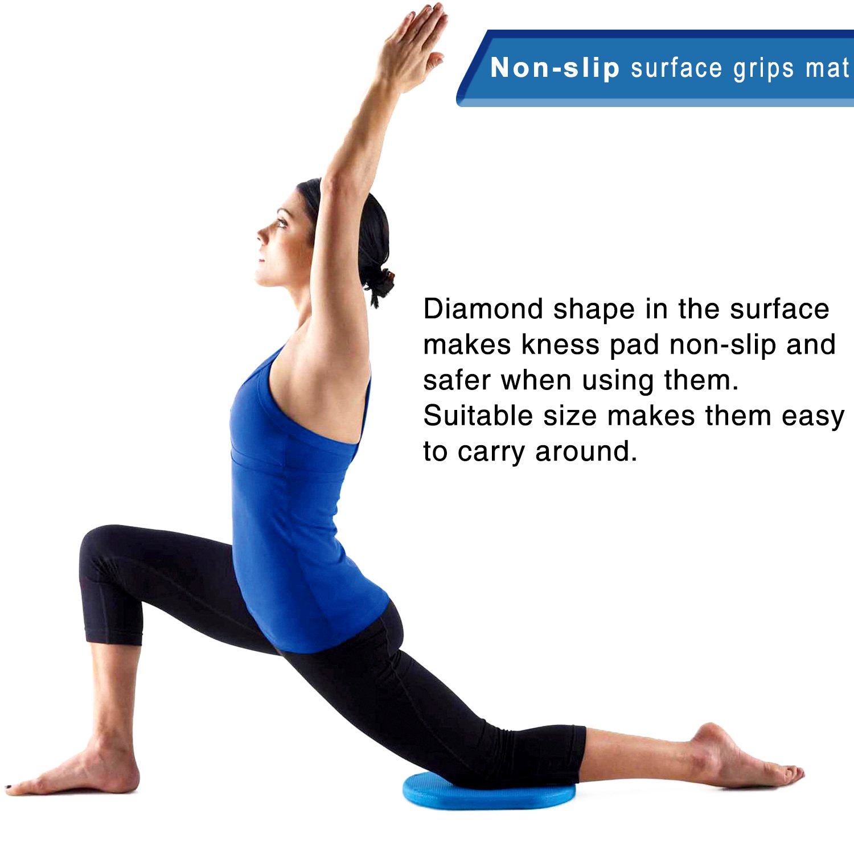 GR Yoga Rodilla Pad - TPE Eco Pad de Espuma para Yoga ...