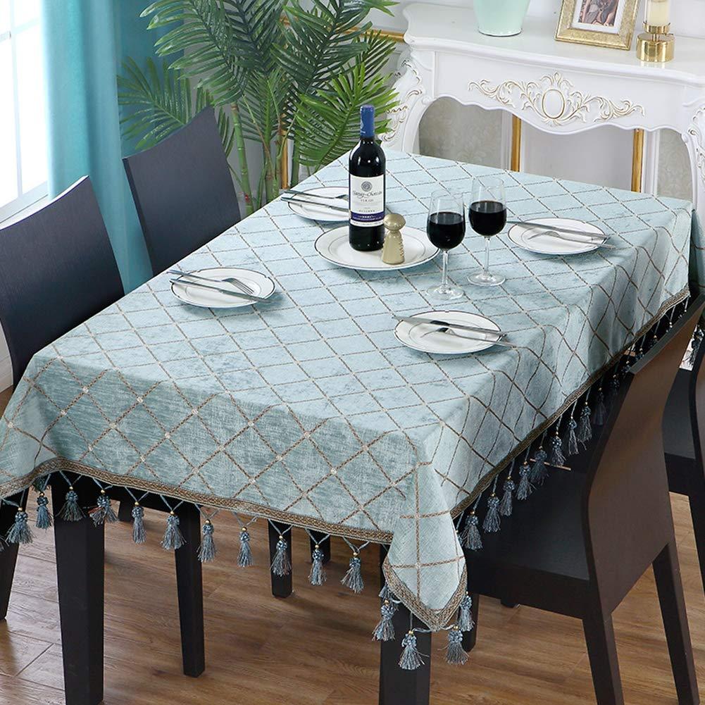 テーブルクロス長方形ホームテーブルクロススクエア装飾ファブリックテーブルクロス,120*120cm   B07RQT5FY2