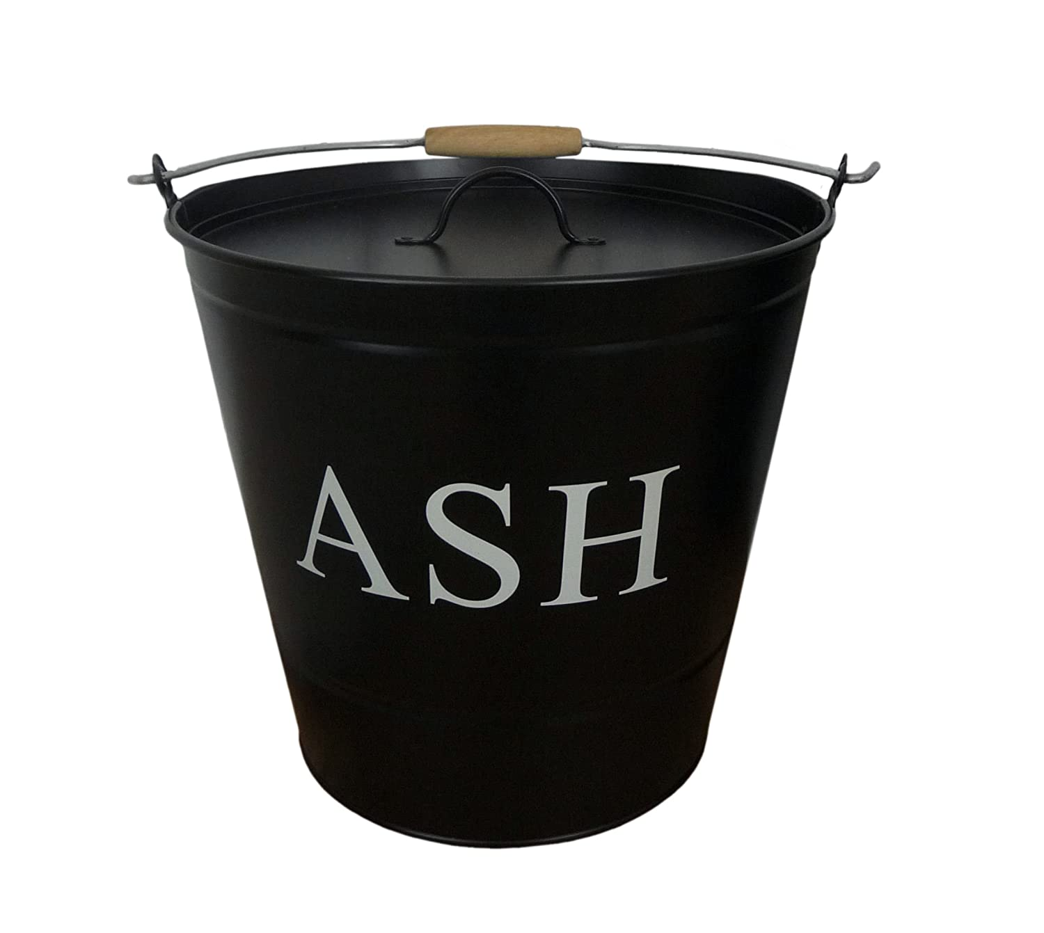 Free delivery and returns on all eligible orders. Shop east2eden 15 Litre Black Enamel Style Metal Fireplace Fireside Ash Bucket with Handle & Lid.