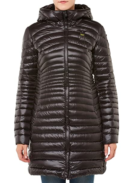 Blauer USA - Chaqueta - para Mujer Negro Medium: Amazon.es ...
