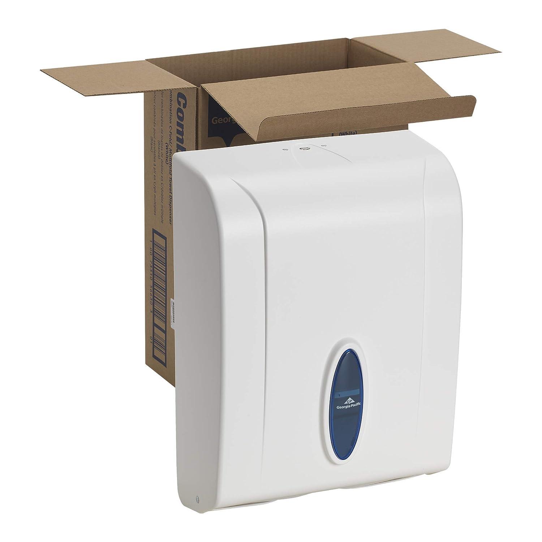 White C-Fold//Multi-Fold Paper Towel Dispenser by GP PRO Georgia-Pacific 56630//01 Renewed 11.100 W x 5.500 D x 15.400 H