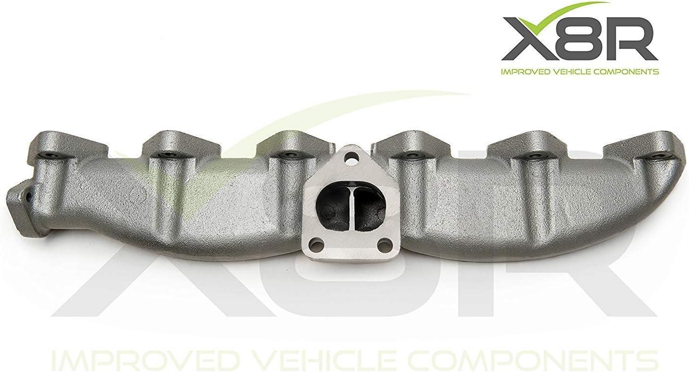 EBTOOLS Car Collettore di scarico in acciaio inox con guarnizioni per E46 E39 E60 E61 E38 E65 E83 E53 3 5 7 X3 X5
