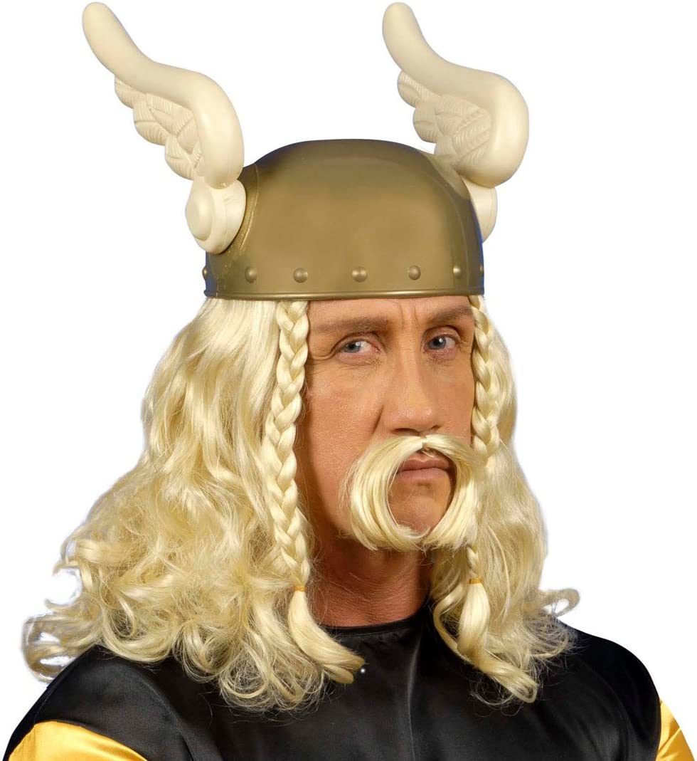 Blonde Asterix peluca la gallier Carnaval peluca peluca Señor ...
