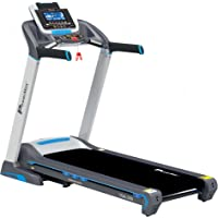 Powermax Fitness TDA-350 (3.0 HP) 7inch Blue LCD Display with 400m Track UI & 18 Level Auto Incline, Motorized Treadmill for Cardio Workout