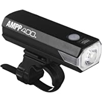 CAT EYE - AMPP400 Rechargeable Bike Headlight, High Power LED, 400 Lumens, with Micro USB Cable
