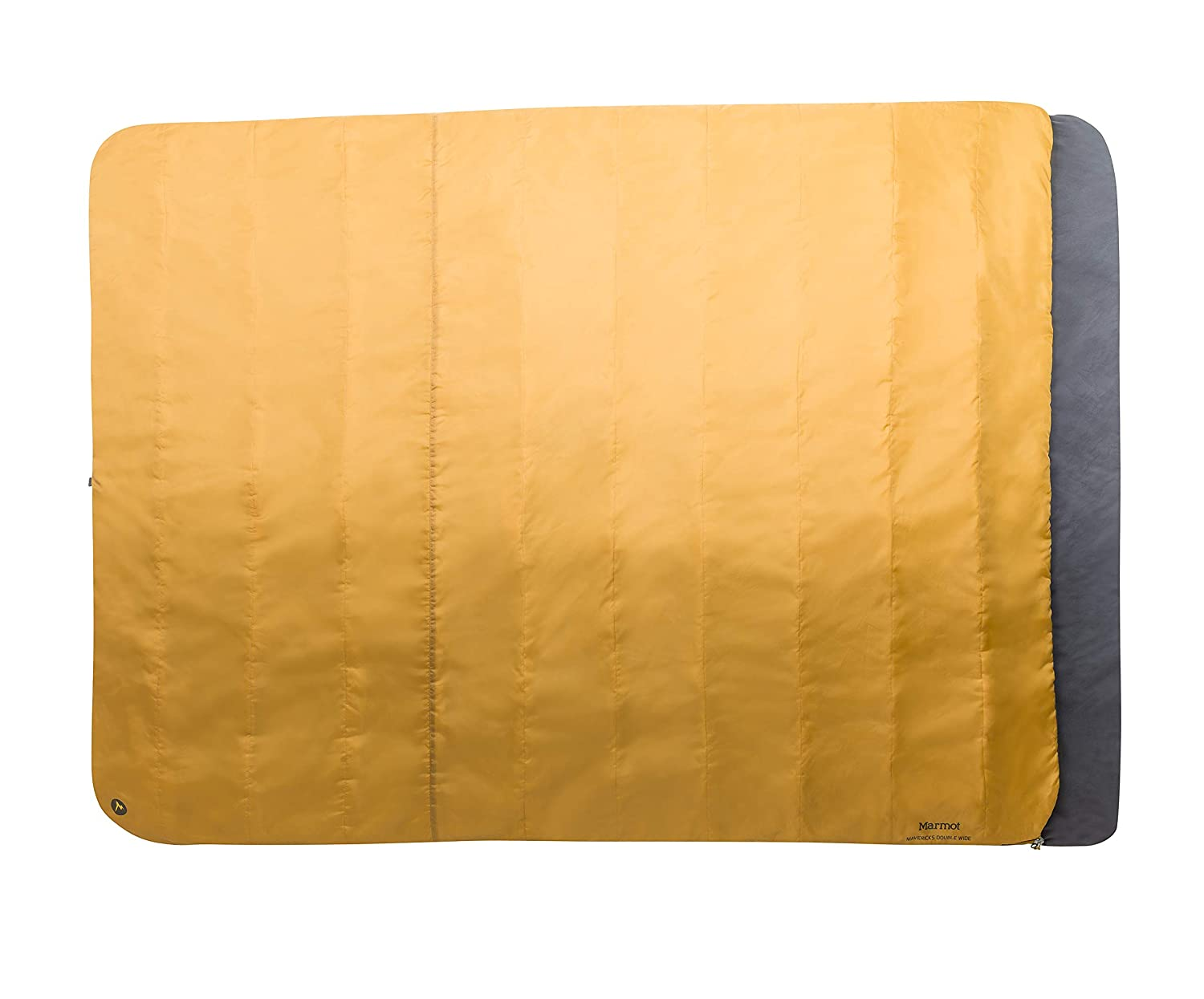 Marmot Mavericks Double Wide Sleeping Bag, Golden Copper Dark Olive, One Size