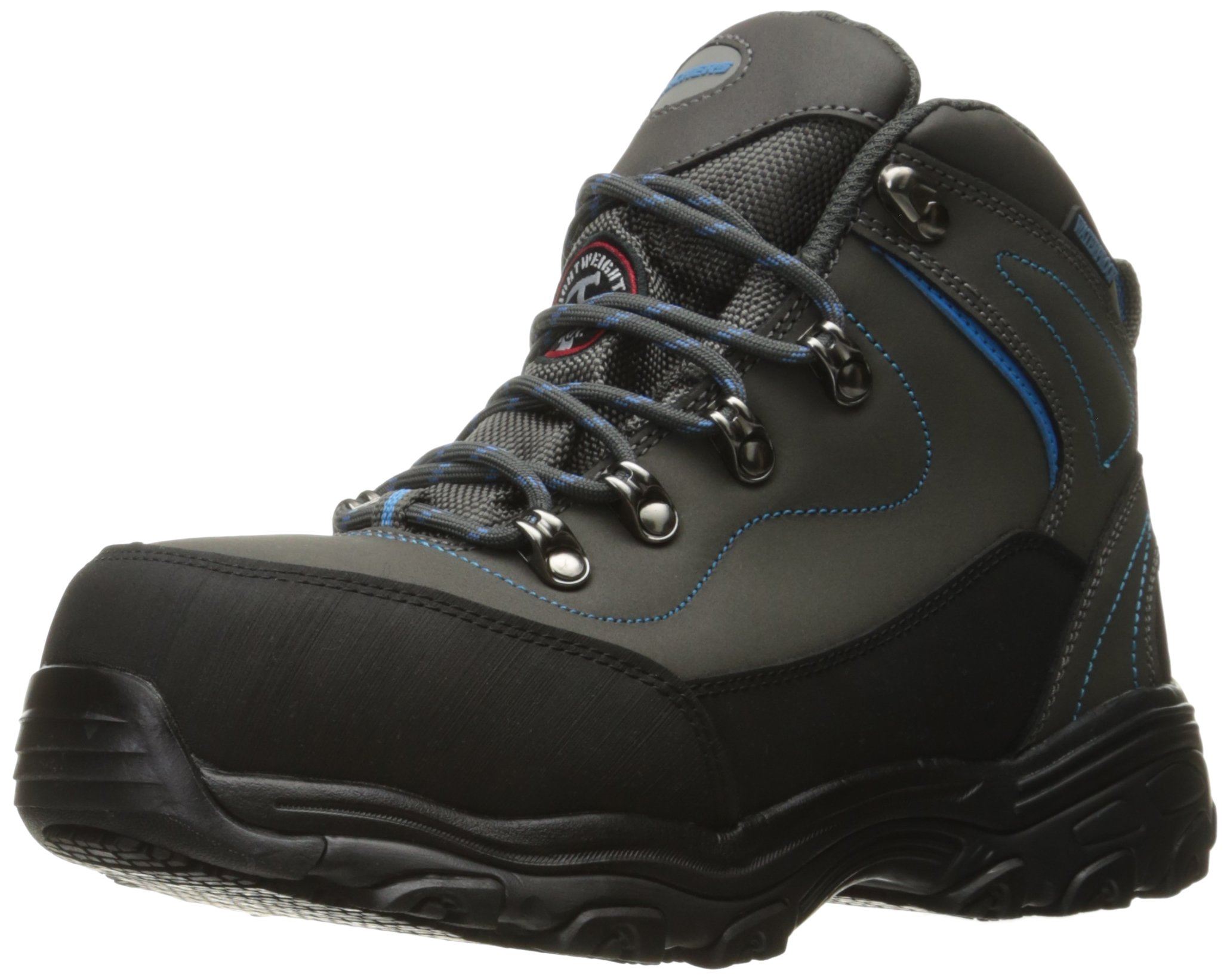 Skechers Women's D Lite Amasa Work Boot,Gray Blue,8 M US