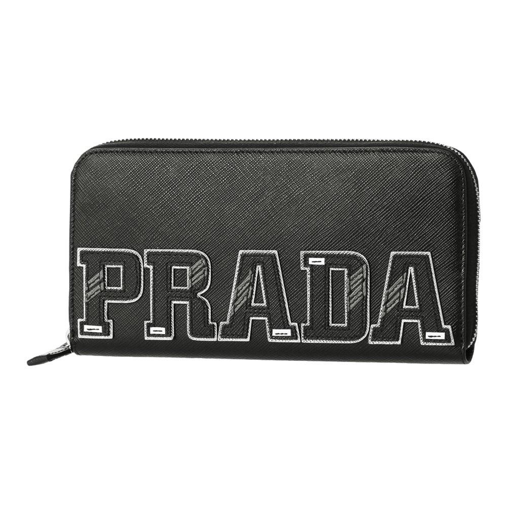 [プラダ] 長財布 メンズ PRADA 2ML317 2EC4 F0002 ブラック マルチ [並行輸入品] B079TLV4W5