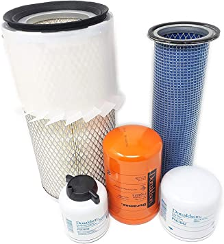 Heater Air Filter Kit 2 Skid Steer fits Bobcat S220 S250 S300 S330 A220 A300