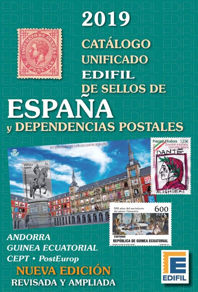 Catalogo EDIFIL Sellos de España y Colonias: Amazon.es: EDIFIL S.A: Libros