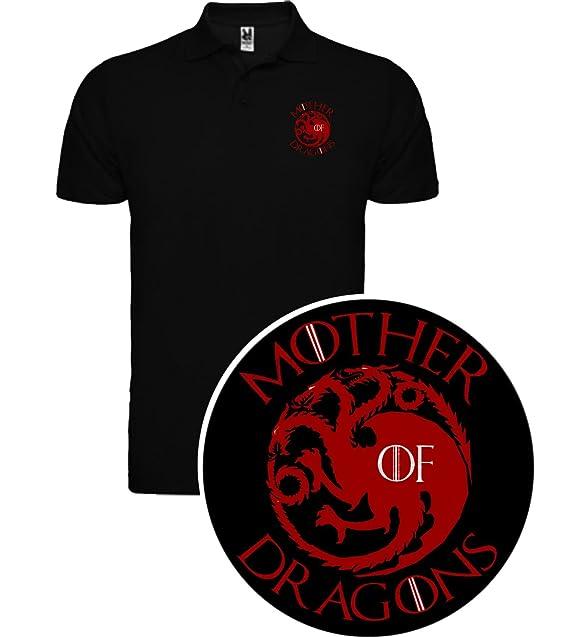 The Fan Tee Polo de NIÑOS Juego de Tronos Tyrion Daenerys Dragon Cuervo: Amazon.es: Ropa y accesorios