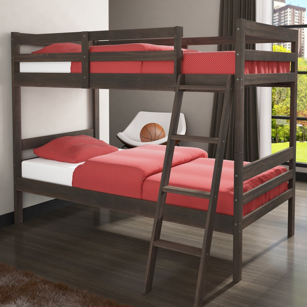 Donco Kids Econo Ranch Twin over Twin Bunk Bed