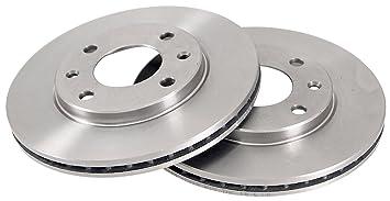 ABS 15880 Discos de Frenos, la Caja Contiene 2 Discos de Freno