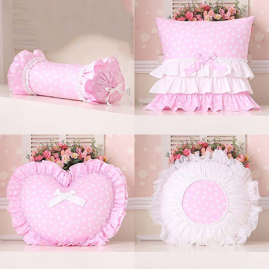 TIANTA-Cushion European pillow cushions pillow love pillow candy bed head waist back sofa waist pillow core ( Color : G )