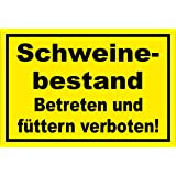 Schild stabile 3mm starke PVC Hartschaumplatte 45x30cm mit Bohrlöchern Wild-beobachtung Bitte diesen Bereich meiden S00359-107-C +++ in 20 Varianten erhältlich