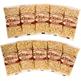 Amish Country Popcorn | 10 - 4 oz Bags | Baby White Popcorn Kernels | Old Fashioned with Recipe Guide (10 - 4 oz Bags)