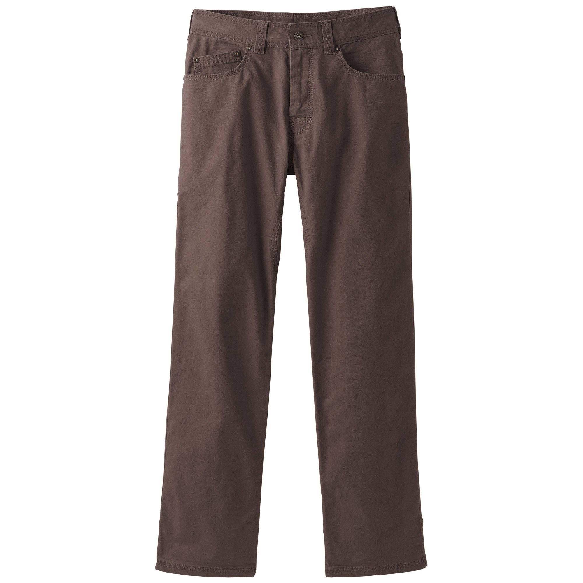 prAna Men's Bronson 32'''' Inseam Athletic Pants, Size 28, Acacia Brown