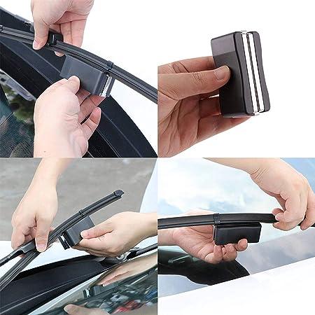Herramienta de reparación de cortador de limpiaparabrisas de automóvil apta para parabrisas limpiaparabrisas plástico 3PCS: Amazon.es: Coche y moto