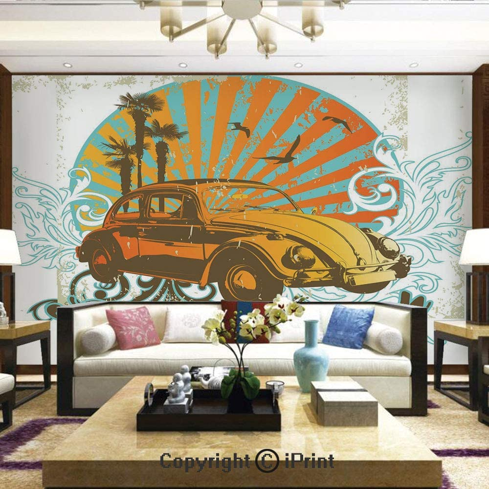 Sunset Tree Photo Wallpaper Mural Sun Peel /& Stick Bedroom Wallpaper Room Art