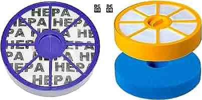 Juego de filtros HEPA para aspiradora Dyson DC05 DC08 DC08t dc08tw ...