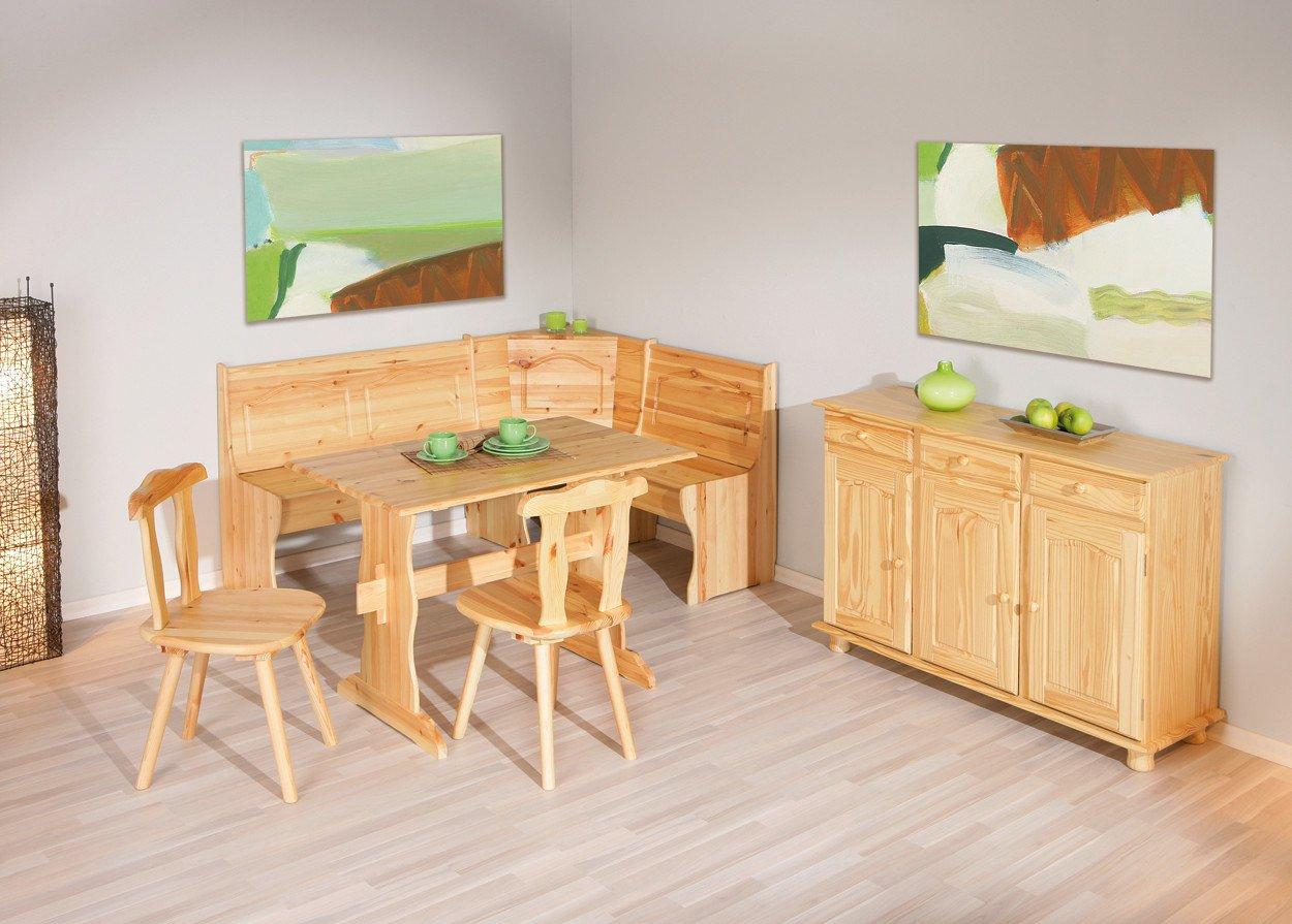 Inter Link Alpine Living Eckbank Gruppe Tisch Stühle Kücheneckbank ...
