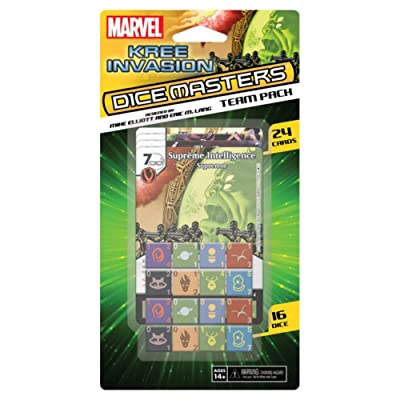 WizKids Marvel Dice Masters: Kree Invasion Team Pack, Game: Toys & Games