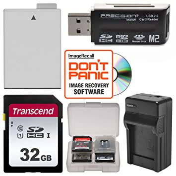 Amazon.com: LP-E8 batería + 32 GB SD Card esencial Bundle y ...