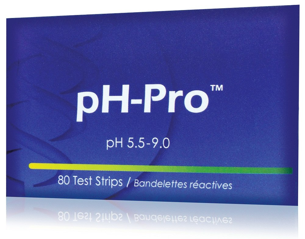 CanPrev Ph-Pro Test Strip Book Strips, 80 Count
