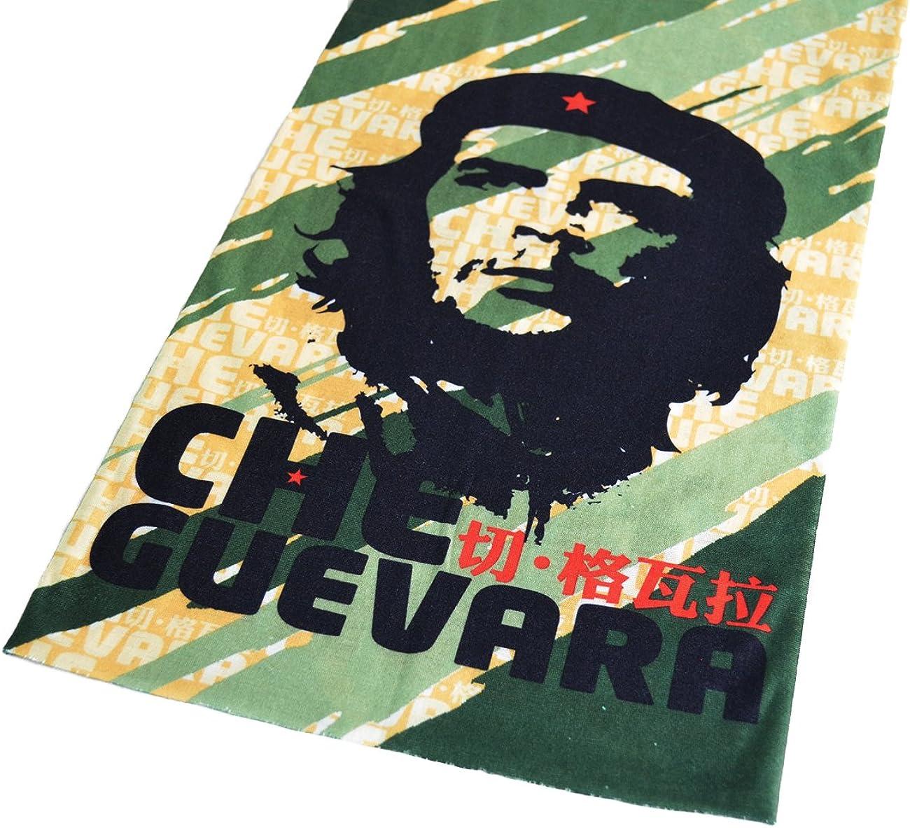Schlauchschal Modell green Che Guevara Multifunktionstuch Schlauchtuch f/ür Biker Motorrad Freizeit
