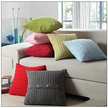 Schöne Kissen Schutzhülle Coliang Doppelseitige Baumwolle Wolle
