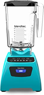 product image for Blendtec Blender - WildSide+ Jar (90 oz) Professional-Grade Power - Self-Cleaning - 4 Pre-programmed Cycles, 5-Speeds, Caribbean Blue