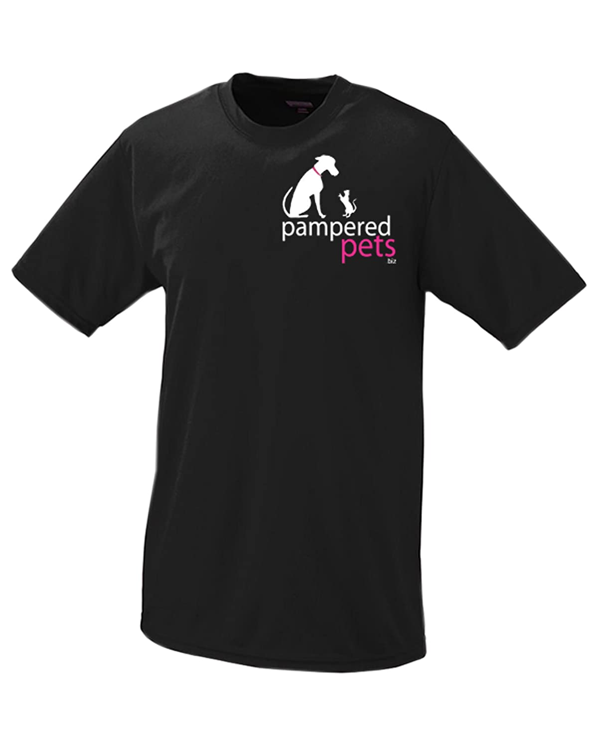 Pampered Pets Paws Edition Wicking Sport Bad Decisions Make Great Stories  T-Shirt, XX-Large, Black