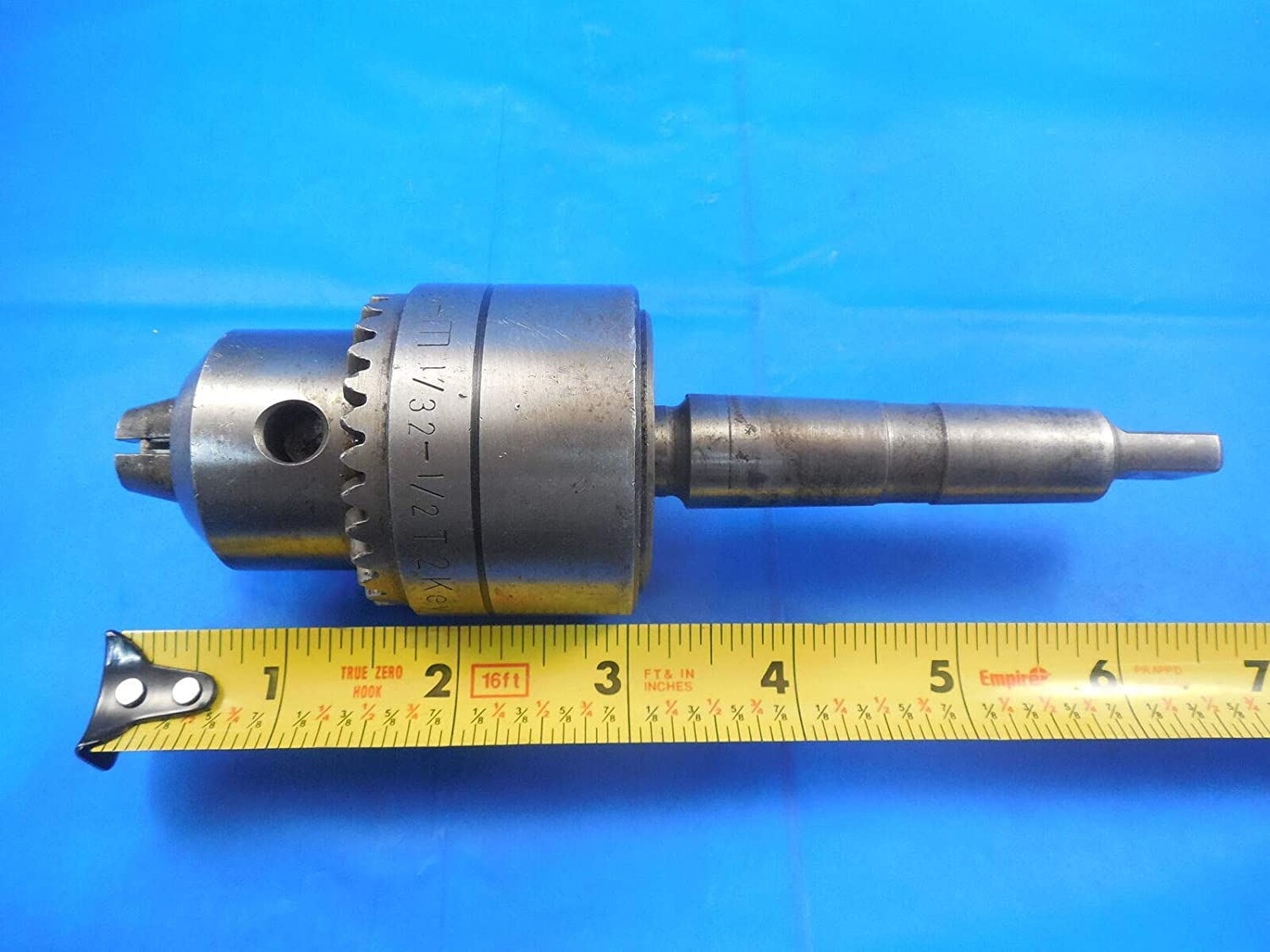J33 Mount Rohm 871053 Type 136 Supra 13 Keyless Drill Chuck 46mm Diameter,
