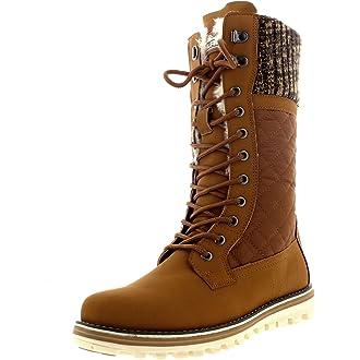 d50ca356e703  10 Polar Womens Winter Thermal Snow Outdoor Warm Mid Calf Waterproof  Durable Boot